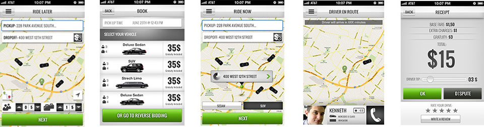 Car Fare Compare App